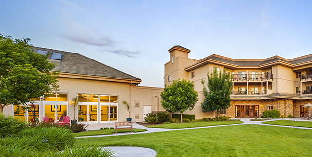 External photo of Covenant Village of Turlock on photo gallery page