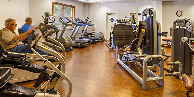 gym and fitness center for seniors